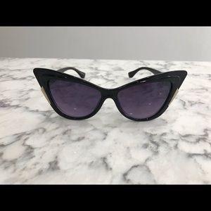 Fendi Cat eye sunglasses retro pinup